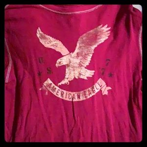 American Eagle Outfitters - Graphic Thermal Shirt